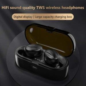 Bluetooth V5.0 Earphones TWS True Wireless Headphones In-Ear Earbuds Waterproof Mini Headsets HiFI Stereo Sports Earpiece 2