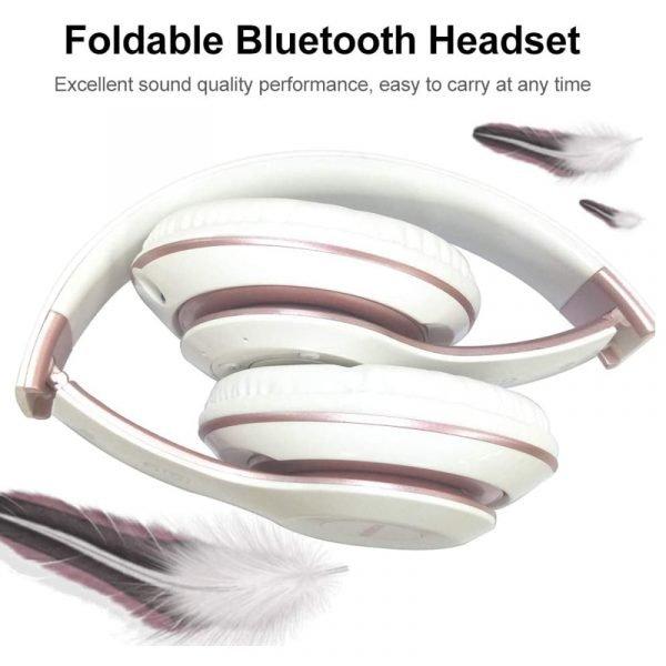 Wireless Headphones Sport Bluetooth 5.0 Earphone Foldable Wirele Handsfree Headset Ear Buds Head Phone Earbuds For iPhone Xiaomi 3