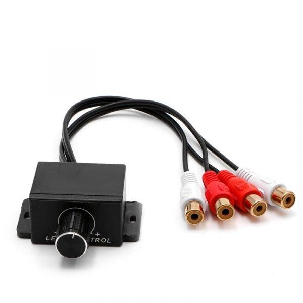 New Car Audio Amplifier Bass RCA Level Remote Volume Control Knob LC-1 Universal 5