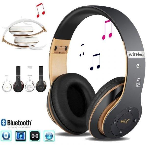 Wireless Headphones Sport Bluetooth 5.0 Earphone Foldable Wirele Handsfree Headset Ear Buds Head Phone Earbuds For iPhone Xiaomi 1