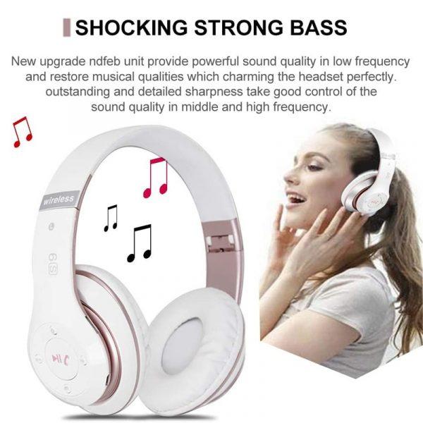 Wireless Headphones Sport Bluetooth 5.0 Earphone Foldable Wirele Handsfree Headset Ear Buds Head Phone Earbuds For iPhone Xiaomi 5