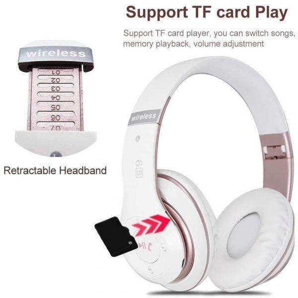 Wireless Headphones Sport Bluetooth 5.0 Earphone Foldable Wirele Handsfree Headset Ear Buds Head Phone Earbuds For iPhone Xiaomi 4