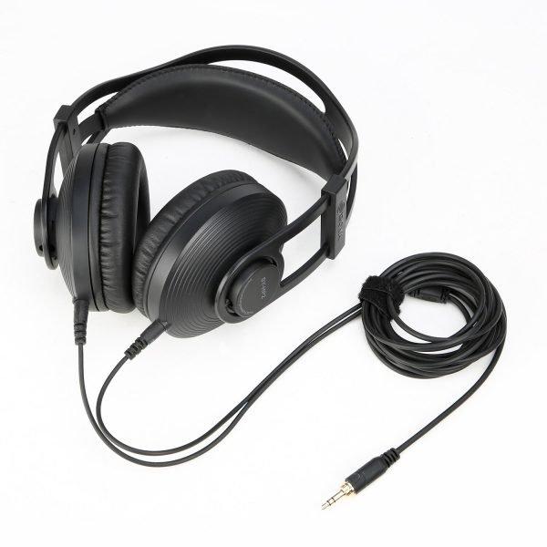 BOYA BY-HP2 Circumaural Ergonomic Professional Monitoring Headphone for Audio Recording, Post-Production, High-Power Device 2