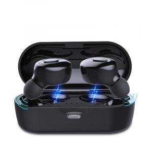 Bluetooth V5.0 Earphones TWS True Wireless Headphones In-Ear Earbuds Waterproof Mini Headsets HiFI Stereo Sports Earpiece 1